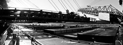 Merchant Mariners Photograph - Dmir Ore Dock by Tim  Telep