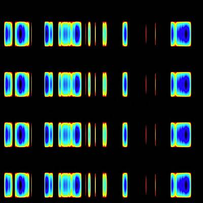 Repetition Photograph - Dna Sequence by Mehau Kulyk