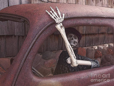 Horror Cars Photograph - Do Not Drink And Drive by Janice Rae Pariza