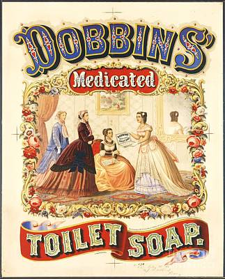 Advertisment Painting - Dobbin's Toilet Soap by Pg Reproductions