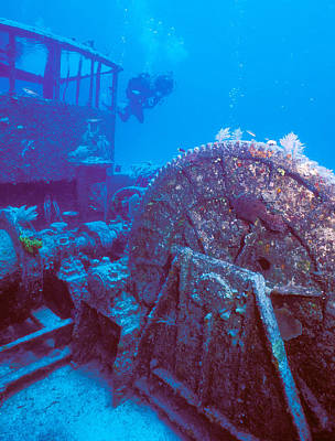 Doc Polson Wreck In The Sea, Grand Print by Panoramic Images