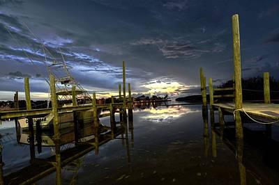 Dock Of The Bay Print by Bob Jackson