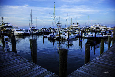 Hamptons Photograph - Docked In The Hamptons by Madeline Ellis