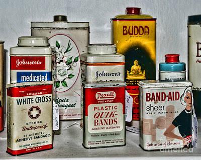 Budda Photograph - Doctor - Adhesive Bandages - Band Aid by Paul Ward