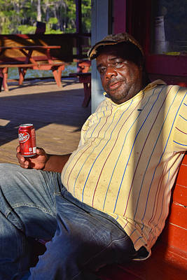 Man Photograph - Doctor Pepper by Skip Hunt