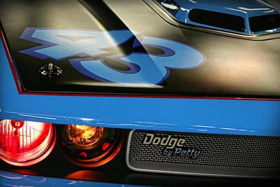 Daytona 500 Photograph - Dodge By Petty by Gordon Dean II