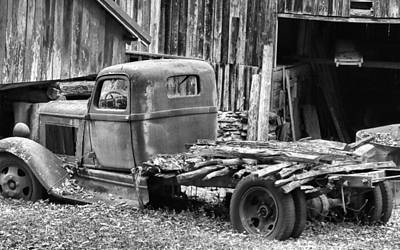 Farm In Woods Photograph - Dodge In The Country by Dan Sproul