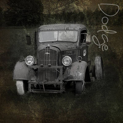Premium Gas Photograph - Dodge Take Life By The Horns by Evie Carrier