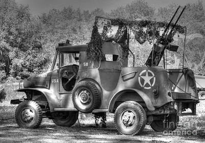 Dodge Wc Series Truck 2 Print by Jimmy Ostgard