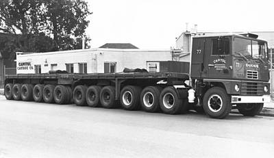 Single Object Photograph - Dodge's Biggest Truck by Underwood Archives