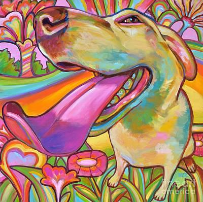 Dog Daze Of Summer Original by Robert Phelps