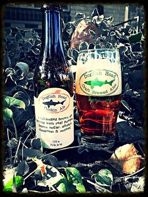 Dogfish Head Punkin Ale Print by Kyle Vick
