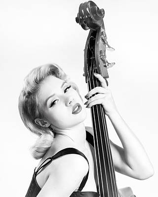 Double Bass Photograph - Doghouse Portrait Of Mosh - Double Bass by Gary Heller