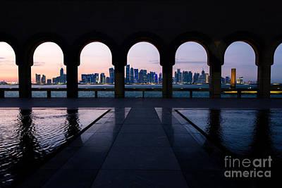 Qatar Photograph - Doha Cityscape - Qatar by Matteo Colombo
