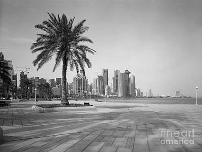 Doha Corniche April 2013 Print by Paul Cowan