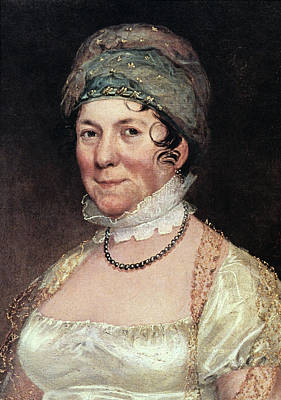 American First Lady Painting - Dolley Payne Todd Madison (1768-1849) by Granger