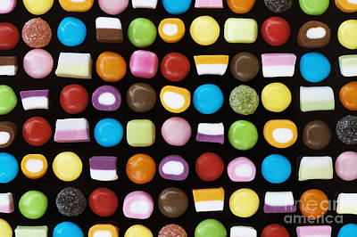Dolly Mixtures Print by Tim Gainey