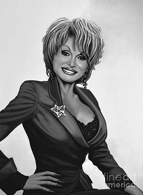 Dolly Parton Print by Meijering Manupix