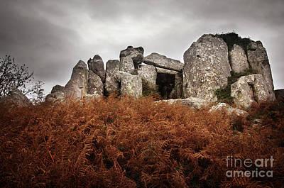 Megalith Photograph - Dolmen by Carlos Caetano