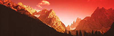 Dolomite Photograph - Dolomites, Italy by Panoramic Images