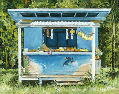 Dolphin Bar Print by Stacy Vosberg