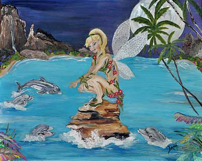 Dolphin Rendezvous Original by Danae McKillop