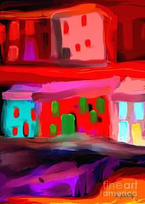 Digital Art - Domicile by D Perry