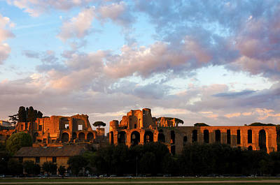 Roman Ruins Photograph - Domus Augustana  by Fabrizio Troiani