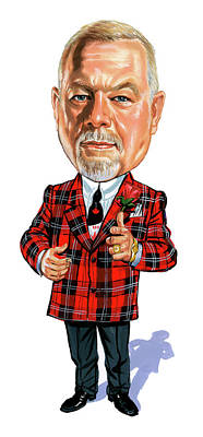 Hockey Painting - Don Cherry by Art