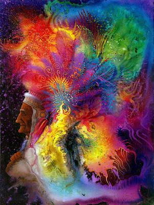 Mental Painting - Don Juan by Achim Prill