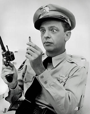 Andy Griffith Show Photograph - Barney Fife - Don Knotts by Mountain Dreams