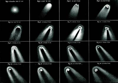 Comet Photograph - Donati's Comet Of 1858 by Royal Astronomical Society