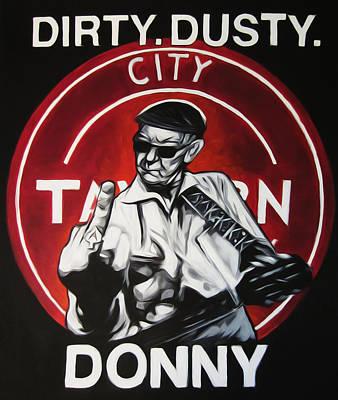 Donny Cash Print by Steve Hunter