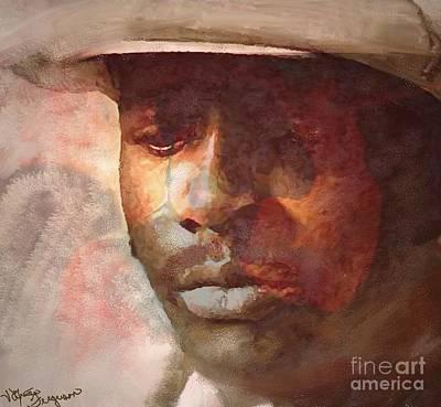 African-american Digital Art - Donny Hathaway by Vannetta Ferguson