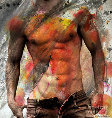 Artistic Nude Digital Art - Don't Explain  by Mark Ashkenazi