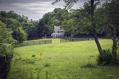 Horse Farm Maryland Photograph - Don't Fence Me In by Brian Wallace
