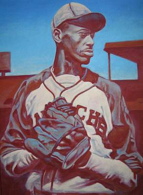 Satchel Paige Painting - Dont Look Back by Paul Smutylo