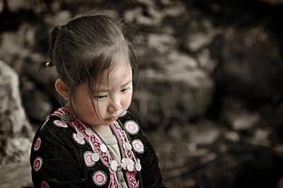 Suradej Photograph - Don't Look Me Like Doll by Suradej Chuephanich