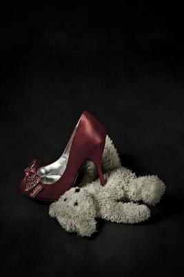 Teddybear Photograph - Don't Step On Me by Joana Kruse