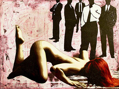 Pulp Painting - Don't You Know What You Are? by Bobby Zeik