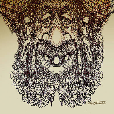 doodle923A Print by Nate Owens