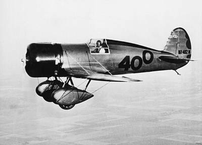 Doolittle's 400 Racer Plane Print by Underwood Archives