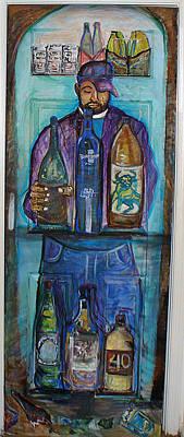 Get A Grip Painting - Get A Grip by Darlene Ricks- Parker