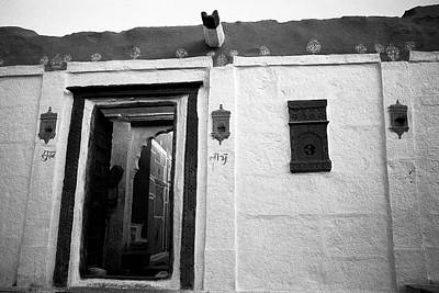 Door And Alcoves Print by Jagdish Agarwal