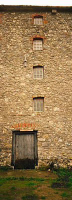 Mill In Woods Photograph - Door Of A Mill, Kells Priory, County by Panoramic Images