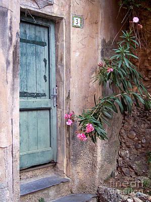 Portofino Photograph - Rustic Portofino Door by Bill Roche