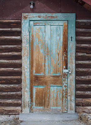 Daysray Photograph - Door One by Fran Riley