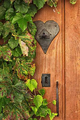 Door To My Heart Print by Georgia Fowler
