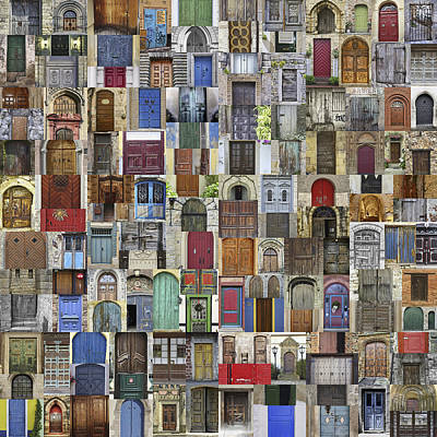 Home-sweet-home Photograph - Door World by Daniel Hagerman