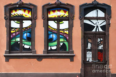 Doors And Windows Curitiba Brazil 1 Print by Bob Christopher